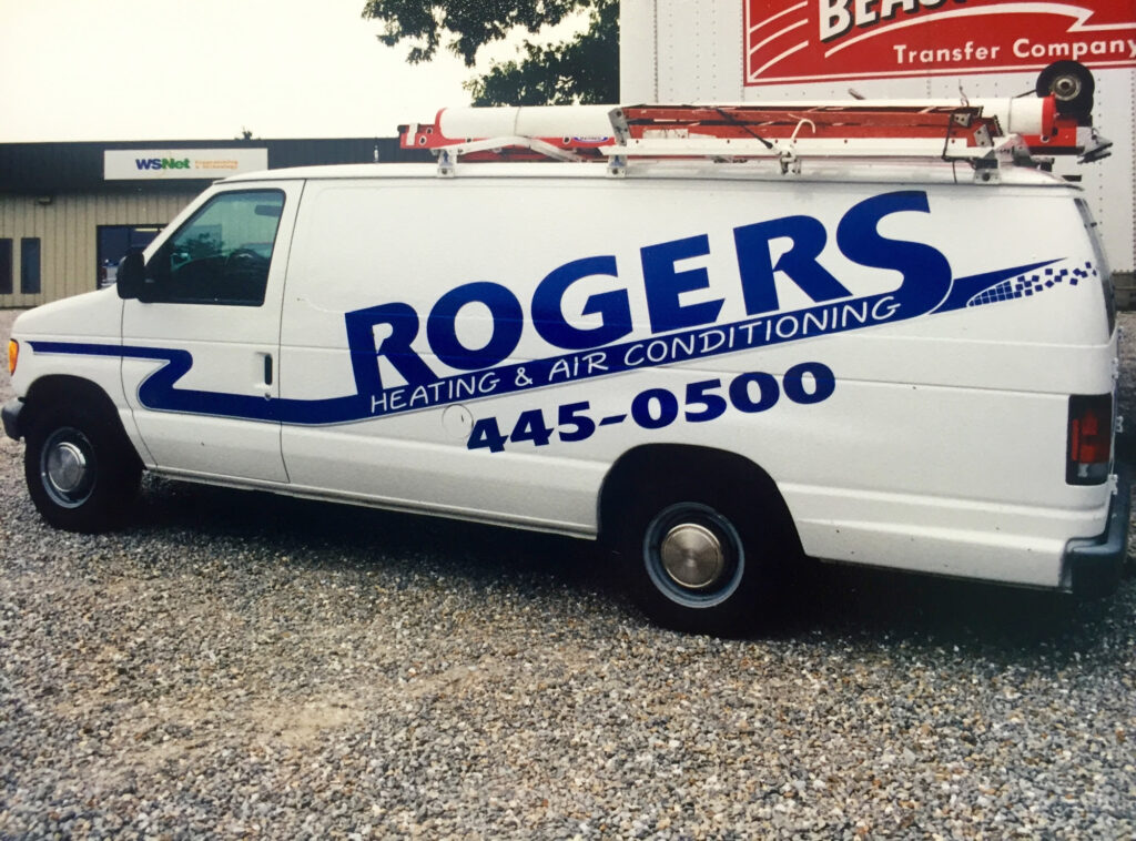 Chapman acquired Roger's Heating and Cooling, growing still, and celebrating 40 years of successful business